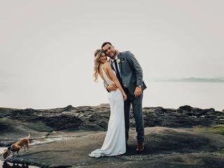 The wedding of Megan and Jamie