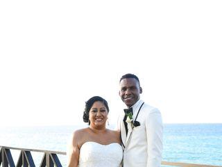 The wedding of Vanita and Leighton 1