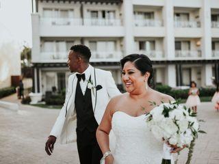The wedding of Vanita and Leighton 2