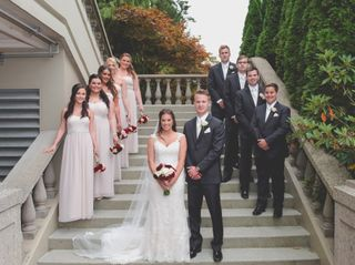 The wedding of Brittney and Chris