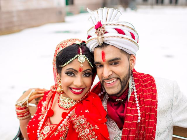 The wedding of Steph and Veshal