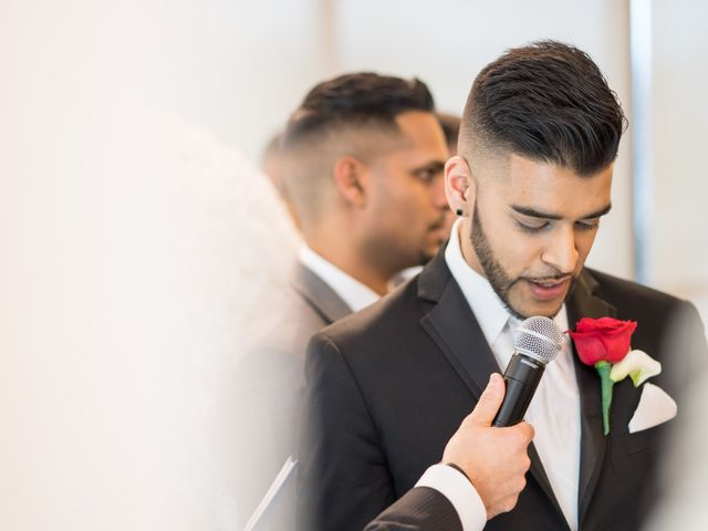 Steph Amp Veshal S Real Wedding By Mississauga Grand