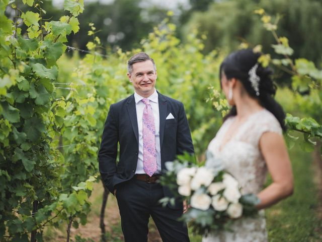 Denis and Stephen's wedding in Vineland, Ontario 90