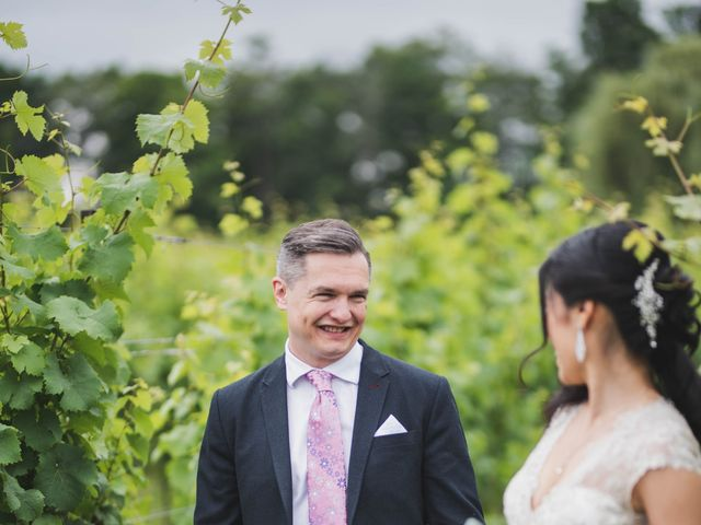 Denis and Stephen's wedding in Vineland, Ontario 91