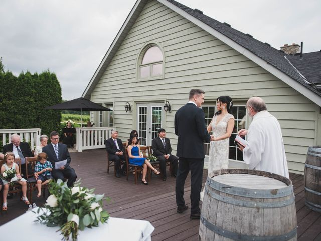 Denis and Stephen's wedding in Vineland, Ontario 130