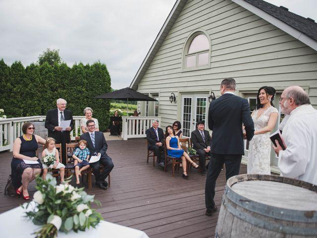 Denis and Stephen's wedding in Vineland, Ontario 131