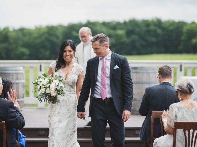 Denis and Stephen's wedding in Vineland, Ontario 2