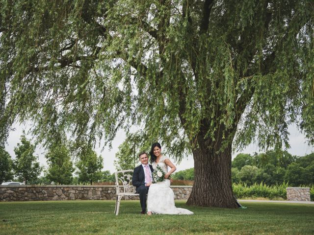 Denis and Stephen's wedding in Vineland, Ontario 220