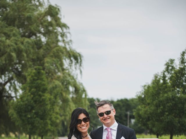 Denis and Stephen's wedding in Vineland, Ontario 226