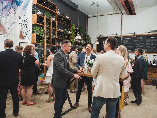 Denis and Stephen's wedding in Vineland, Ontario 250