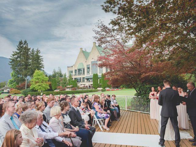 Chris and Brittney's wedding in Pitt Meadows, British Columbia 1