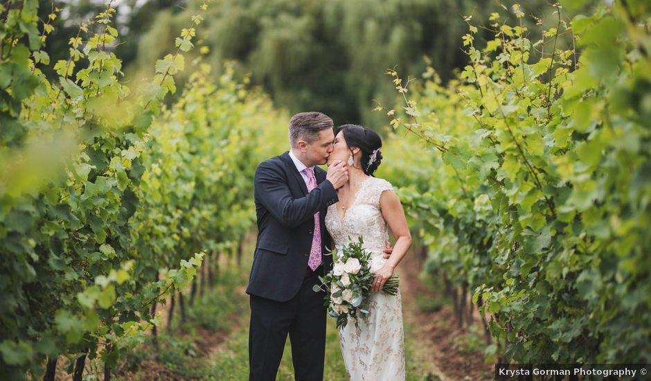 Denis and Stephen's wedding in Vineland, Ontario
