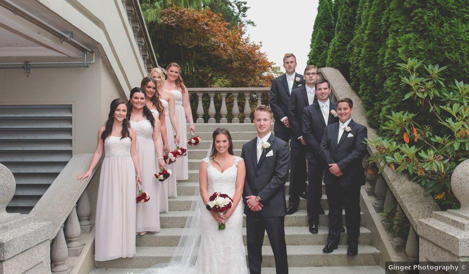 Chris and Brittney's wedding in Pitt Meadows, British Columbia