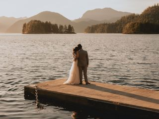 The wedding of Sarah and Harky