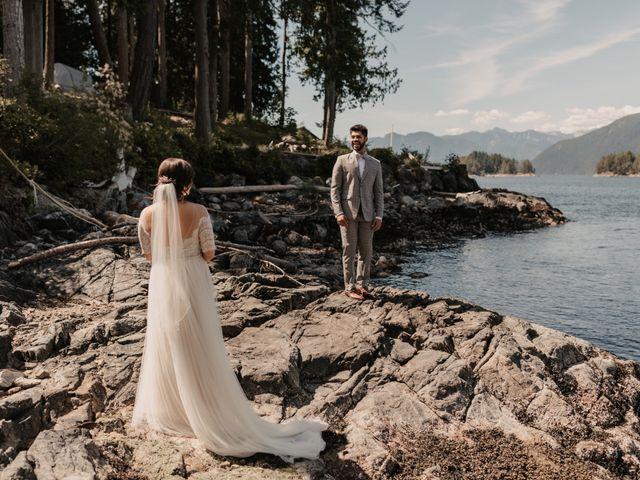Harky and Sarah's wedding in Egmont, British Columbia 12