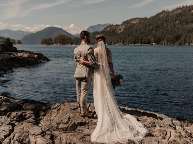 Harky and Sarah's wedding in Egmont, British Columbia 13