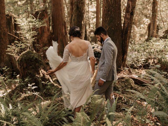 Harky and Sarah's wedding in Egmont, British Columbia 16