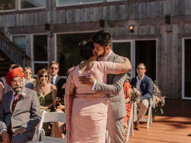 Harky and Sarah's wedding in Egmont, British Columbia 19