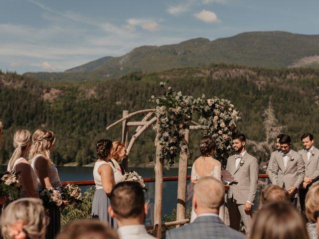 Harky and Sarah's wedding in Egmont, British Columbia 21