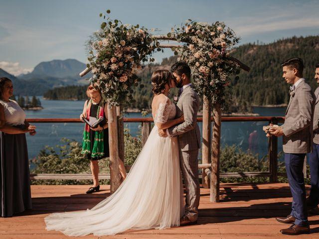 Harky and Sarah's wedding in Egmont, British Columbia 22