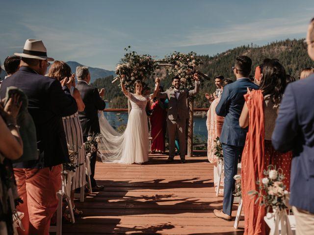 Harky and Sarah's wedding in Egmont, British Columbia 23