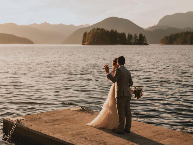 Harky and Sarah's wedding in Egmont, British Columbia 43