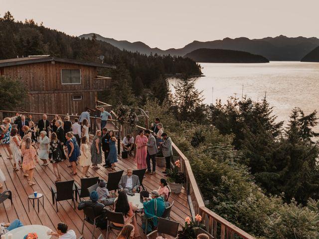 Harky and Sarah's wedding in Egmont, British Columbia 3
