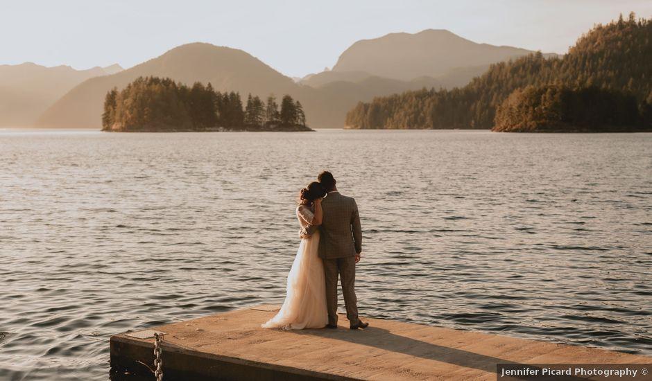 Harky and Sarah's wedding in Egmont, British Columbia