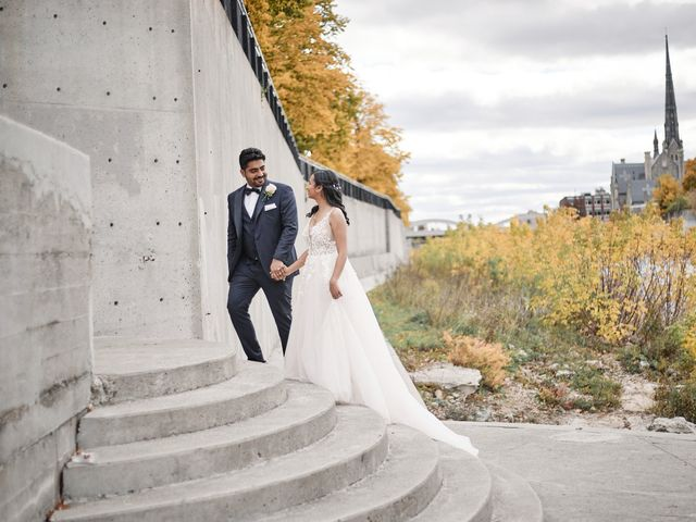 Roger and Sayali's wedding in Cambridge, Ontario 27