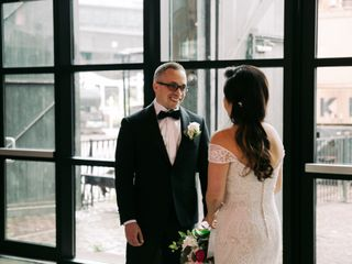 The wedding of Esther and Dan 2