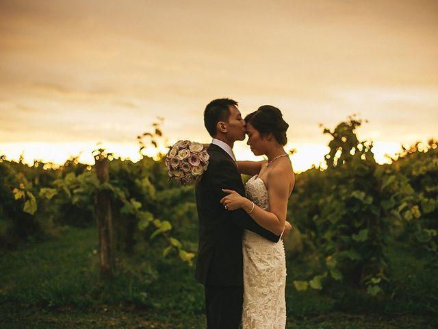 The wedding of Vivian and Richard
