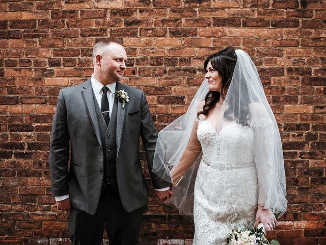 The wedding of Sharon and CJ Dam