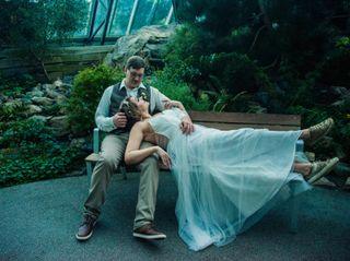 The wedding of Marissa and John