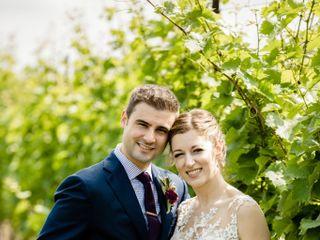 The wedding of Karen and Jeff