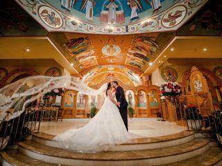 The wedding of Joanna and Giampiero
