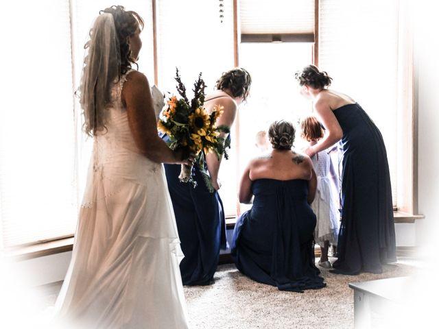 Chantal and Lance's wedding in Marengo, Saskatchewan 8