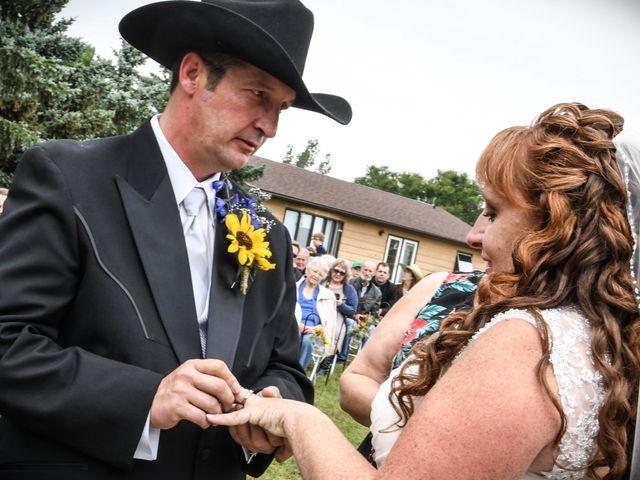 Chantal and Lance's wedding in Marengo, Saskatchewan 12