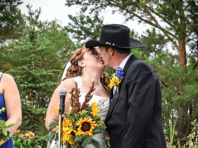 The wedding of Lance and Chantal