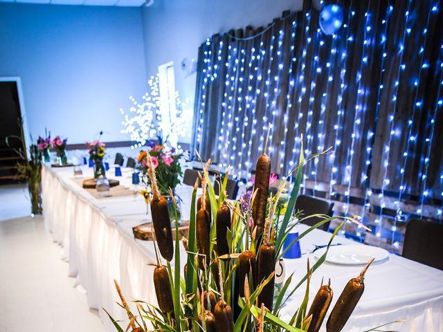 Chantal and Lance's wedding in Marengo, Saskatchewan 1