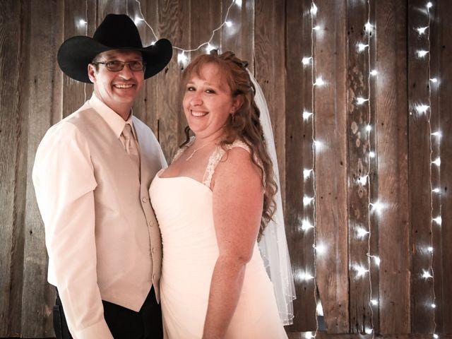 Chantal and Lance's wedding in Marengo, Saskatchewan 17