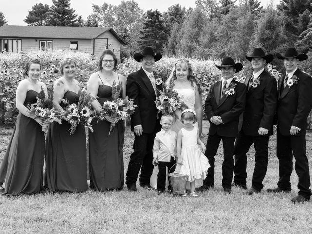 Chantal and Lance's wedding in Marengo, Saskatchewan 22