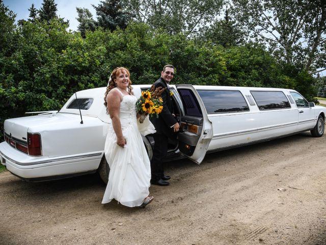 Chantal and Lance's wedding in Marengo, Saskatchewan 2