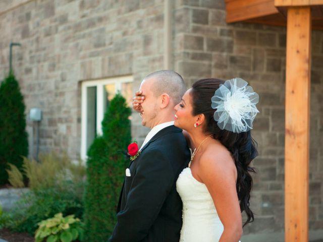 The wedding of Heidi and Matt