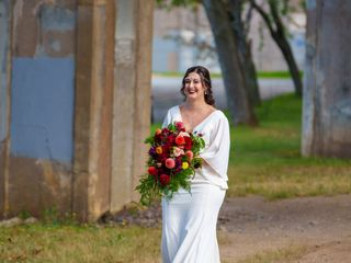 The wedding of Kristen and Jeffrey 1