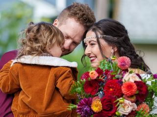 The wedding of Kristen and Jeffrey