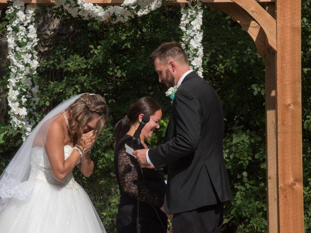 The wedding of Chris and Tasha