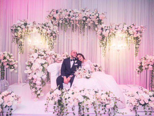 The wedding of Safa and Yahya