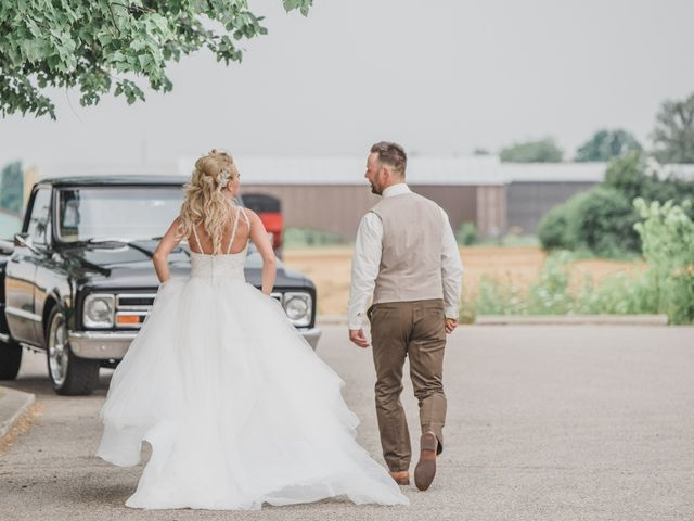 The wedding of Danielle and Randy