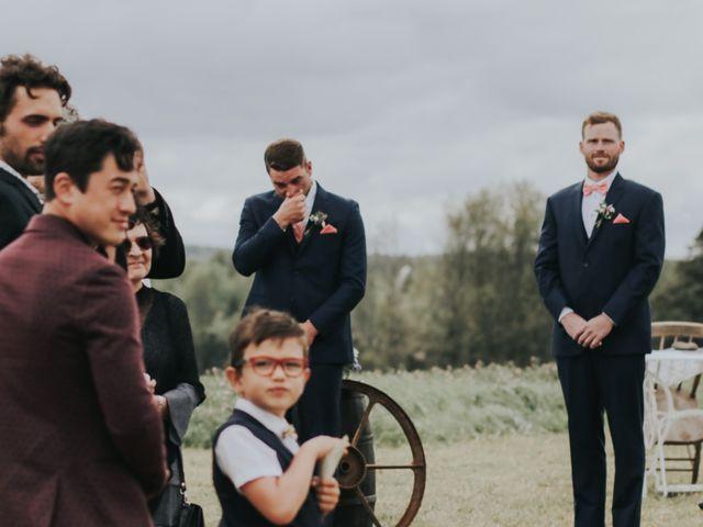 David and Pascale's wedding in Scotsburn, Nova Scotia 25