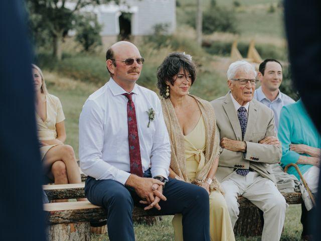 David and Pascale's wedding in Scotsburn, Nova Scotia 32